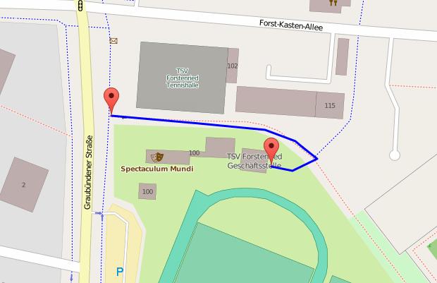 Anfahrtadresse